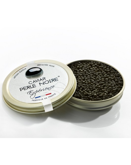 natural caviar of just salted eggs